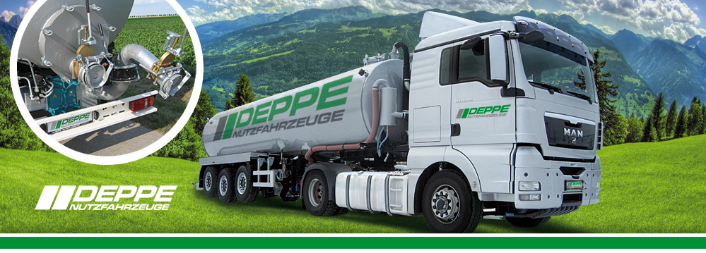 Deppe Commercial Vehicles - Slurry Tank-Semitrailer
