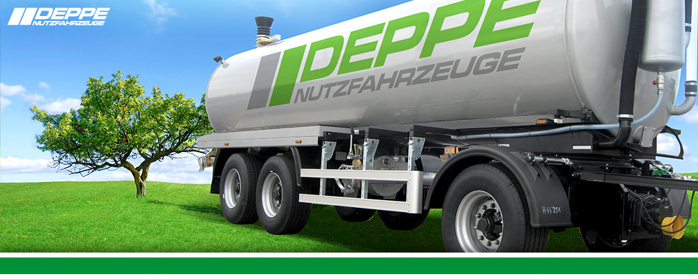 Deppe Commercial Vehicles - Slurry Tank Trailer